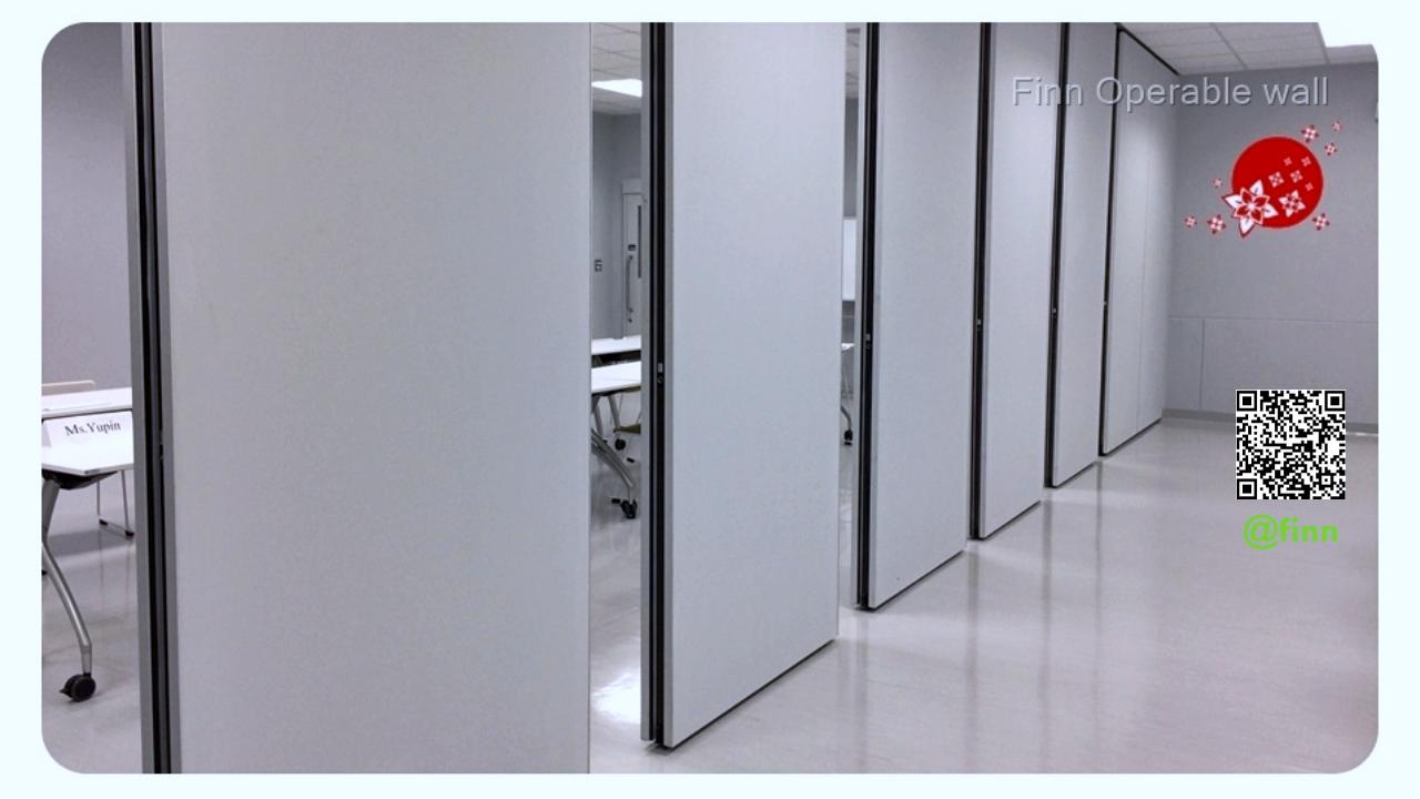 ผู้เชี่ยวชาญด้าน ผนังบานเลื่อนกันเสียง Movable Wall Systems By FINN De'cor